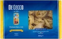 Характеристрики и размер товара Макаронные изделия De Cecco Феттуччини, 500г