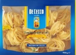 Характеристрики и размер товара Макароны De Cecco №203 Tagliatelle Nidi Semola, 500 г