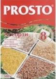 Характеристрики и размер товара Крупа в пакетиках Ассорти Prosto к/у 8х62.5г