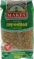 Характеристрики и размер товара Крупа гречневая ядрица Makfa м/у 800г