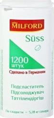 Характеристрики и размер товара Сахарозаменитель Milford suss 1200 таблеток
