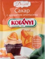 Характеристрики и размер товара Сахар Kotanyi с ароматом апельсина, 50 г
