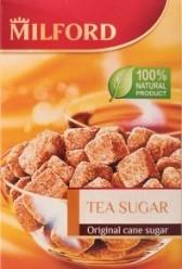 Характеристрики и размер товара Сахар тростниковый коричневый нерафинированный Milford к/у 300г