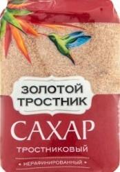 Характеристрики и размер товара Сахар Золотой тростник Тростниковый нерафинированный, 900 г