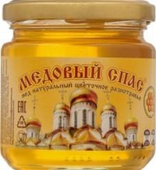 Характеристрики и размер товара Мед Медовый Спас натуральный цветочное разнотравье, 250 г