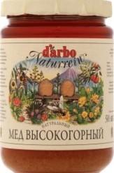 Характеристрики и размер товара Мед D'arbo высокогорный натуральный, 500 г