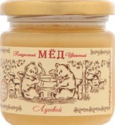 Характеристрики и размер товара Мед Медовая долина Луговой натуральный цветочный, 250 г