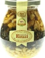 Характеристрики и размер товара Десерт медовый с ядрами орехов и сухофруктами Микс №9 Aroma di Estasi с/б 320г