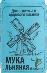 Характеристрики и размер товара Мука Вегана льняная, 350 г