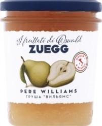 Характеристрики и размер товара Конфитюр Zuegg Pere Williams из груши Вильямс, 320 г