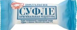 Характеристрики и размер товара Сырок глазированный Ностальгия Суфле с ванилью 5%, 25 г