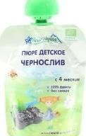 Характеристрики и размер товара Пюре для детей от 4мес Чернослив Fleur Alpine туб 90г
