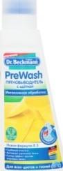 Характеристрики и размер товара Пятновыводитель Dr.Beckmann PreWash со щеткой, 250 мл
