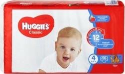 Характеристрики и размер товара Подгузники Huggies Classic 4 (7-18кг), 50 шт