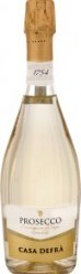 Характеристрики и размер товара Вино Casa Defra Prosecco Brut белое игристое 11%, 750 мл