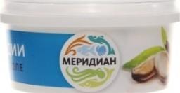 Характеристрики и размер товара Мидии в рассоле Меридиан п/у 180г