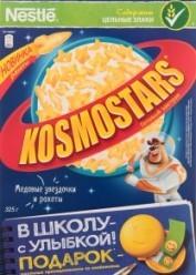 Характеристрики и размер товара Завтраки сухие медовые Звездочки и галактики Kosmostars к/у 325г