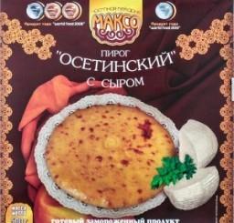 Характеристрики и размер товара Пирог Максо Осетинский с сыром замороженный, 500 г
