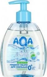 Характеристрики и размер товара Жидкое мыло AQA baby для малыша 300мл