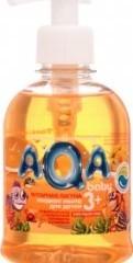Характеристрики и размер товара Детское жидкое мыло Aqa Baby Янтарная лагуна с экстрактами календулы и ромашки, 300 мл