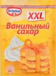 Характеристрики и размер товара Ванильный сахар Dr.Oetker XXL, 40 г