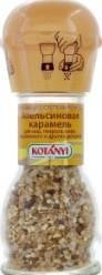 Характеристрики и размер товара Смесь кондитерская Kotanyi Апельсиновая карамель для каш творога кофе мороженого и других десертов, 42 г
