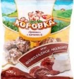 Характеристрики и размер товара Пряники РотФронт Коровка вкус шоколадное молоко, 300 г