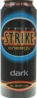 Характеристрики и размер товара Сидр 0.5л 6% фруктовый сладкий Dark Ten Strike ж/б