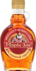 Характеристрики и размер товара Сироп Maple Joe Кленовый, 189 мл