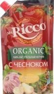 Характеристрики и размер товара Кетчуп с чесноком Mr.Ricco д/п 350г