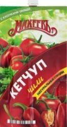 Характеристрики и размер товара Кетчуп Чили Махеевъ д/п 260г