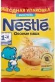 Характеристрики и размер товара Каша для детей Nestle молочная овсяная от 5 месяцев, 200 г