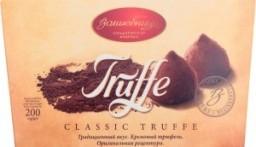 Характеристрики и размер товара Конфеты Волшебница Truffe Classic Truffe, 200 г