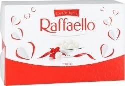 Характеристрики и размер товара Конфеты Raffaello с цельным миндальным орехом, 90г