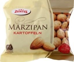 Характеристрики и размер товара Картошка Zentis Marzipan, 100 г