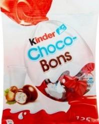 Характеристрики и размер товара Конфеты Kinder Choco-Bons, 125 г