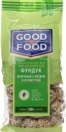 Характеристрики и размер товара Фундук жареный с медом и кунжутом Good Food м/у 130г