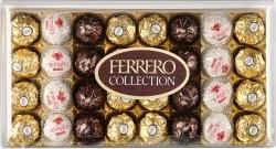 Характеристрики и размер товара Набор конфет Коллекция Ferrero 359,2г