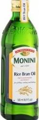 Характеристрики и размер товара Масло Monini Rice Bran Oil рисовое 500мл