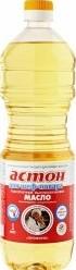 Характеристрики и размер товара Масло Астон подсолнечное высокоолеиновое сорта Премиум рафинированное дезодорированное 1л