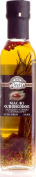 Характеристрики и размер товара Delphi масло оливковое Extra Virgin с ароматическими травами, 250 мл