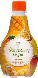 Характеристрики и размер товара Starberry смузи манго, маракуйя, 0,375 л