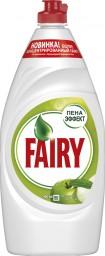 Характеристрики и размер товара FAIRY Средство для мытья посуды Зеленое яблоко 900мл