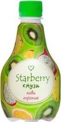 Характеристрики и размер товара Starberry смузи киви, тропик, 0,375 л