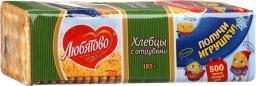 Характеристрики и размер товара Хлебцы Любятово с отрубями 185г