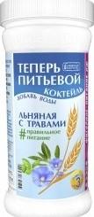 Характеристрики и размер товара Сибирская клетчатка питьевой коктейль льняная с травами, 350 г