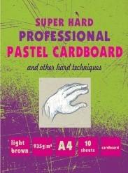 Характеристрики и размер товара Альбом Kroyter для рисования пастелью А4, 10 листов