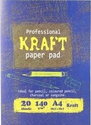 Характеристрики и размер товара Папка Kroyter длярисования и эскизов А4, 20 листов