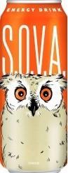 Характеристрики и размер товара S.O.V.A. Orange энергетический напиток, 0,5 л