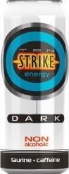 Характеристрики и размер товара Ten Strike Dark Энергетические напиток со вкусом Малины и Зеленого чая, 450 мл